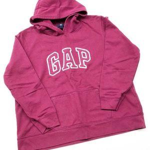 GAP maroon classic hoodie jacket for girls